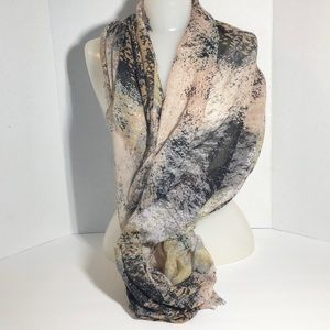 Women's Boutique Spring/Fall Scarf Multi Color